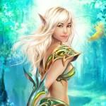 Эльфы, эльфийка