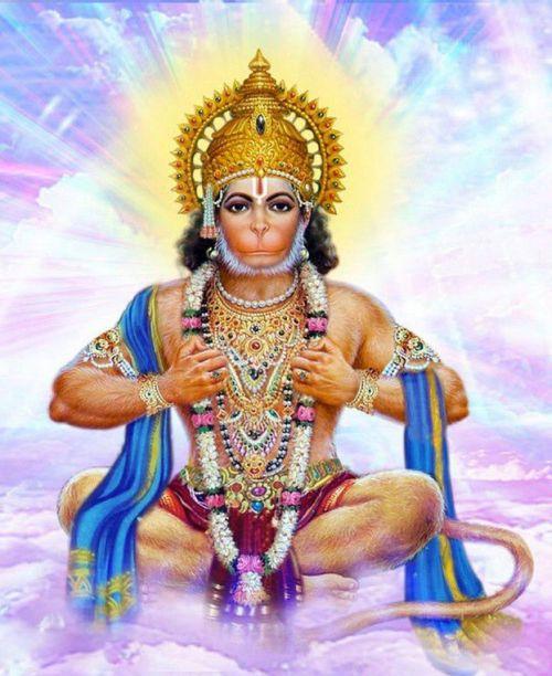Бог Хануман