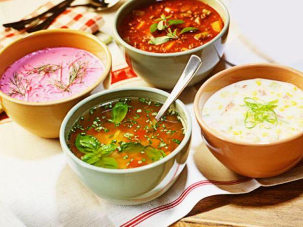 Вегетарианские и йогические супы