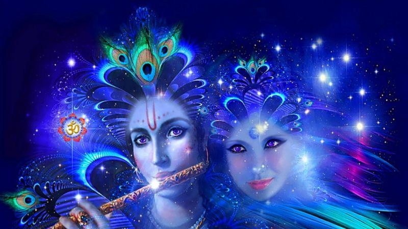 Кришна-Радха — энергия любви и сексуальности (инициация)