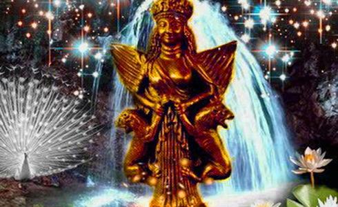 Анахита, Ардвисура Анахита — энергия воды, исцеления и расслабления (инициация)