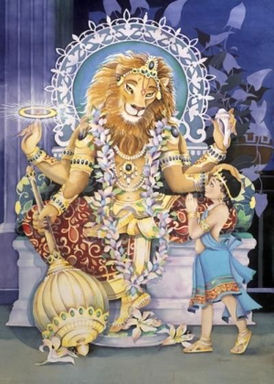 Нрисимха, Нарасимха — энергия справедливости и высшей защиты (инициация)
