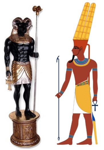 Амон, бог Амон — энергия помощи в трудных ситуациях (инициация)