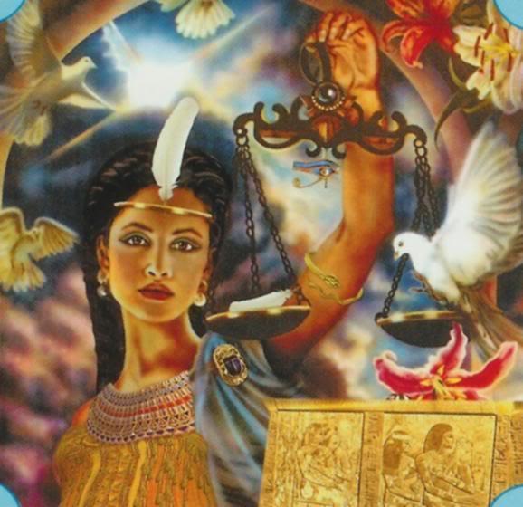 Богиня Маат — энергия правды, защиты и справедливости (инициация)