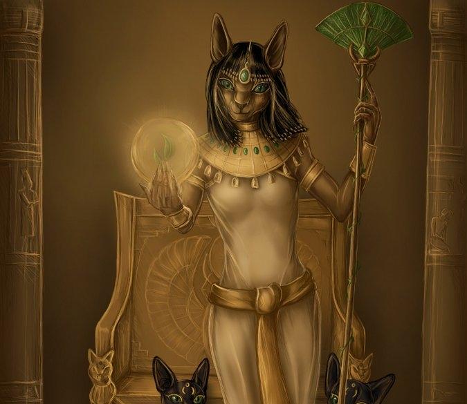 Богиня Баст — женская энергия мягкости, грации и красоты (инициация)