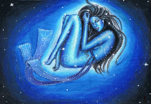 Богиня Нут — энергия неба и связи с высшим Я (инициация)