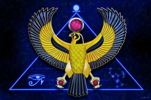 Гор бог — энергия неба, успеха, проницательности и ясновидения (инициация)