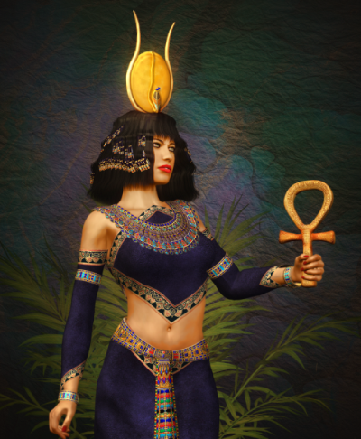 Богиня Хатхор — энергия любви, процветания, женской силы (инициация)