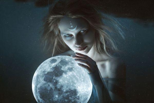 Богиня Луны, Селена, энергия Луны