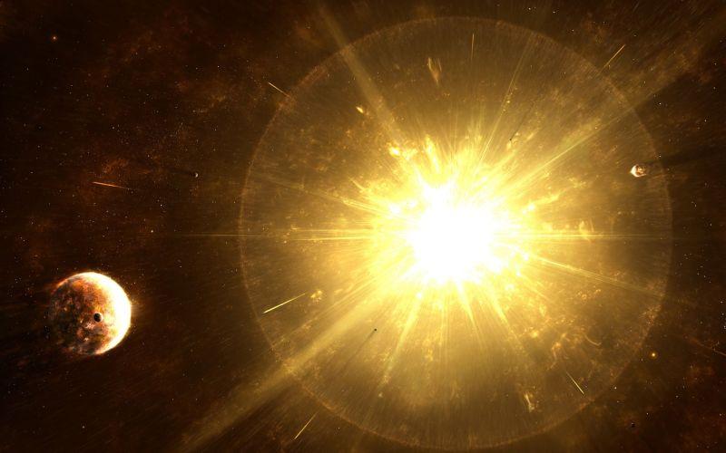 Великое Центральное Солнце и структура нашей Вселенной