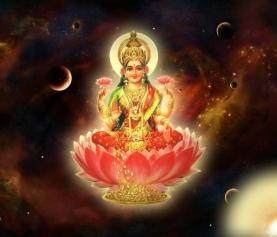 Лакшми, Камала; богиня Лакшми, энергетический канал (инициация)