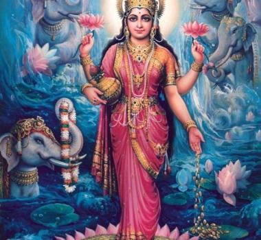 Богиня Махалакшми