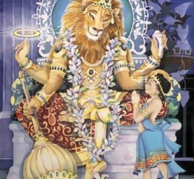 Нрисимха, Нарасимха, энергия бога Нарасимхи, энергия справедливости и высшей защиты (посвящение, инициация)