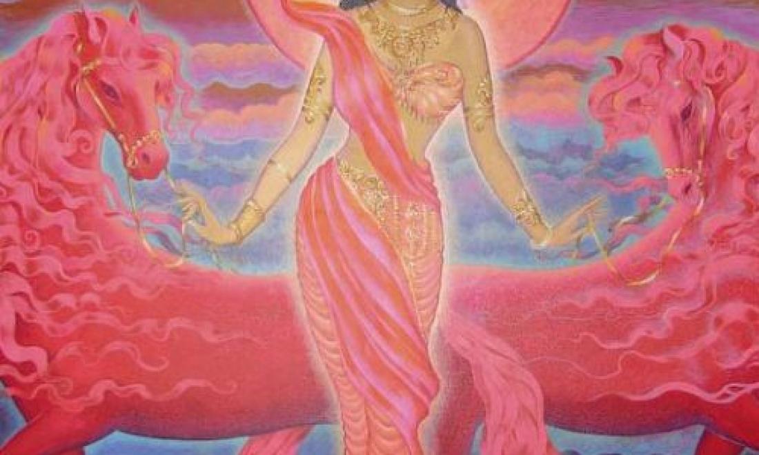 Богиня Ушас