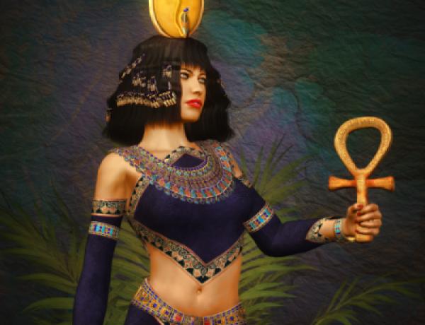 Богиня Хатхор, энергетический канал Хатхор (посвящение, инициация)