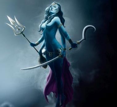 Кали, богиня Кали, энергетический канал Кали (инициация)