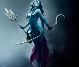 Кали, богиня Кали, энергетический канал Кали