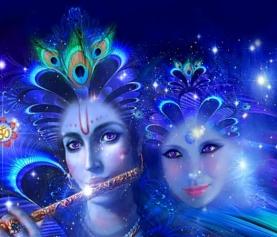 Канал любви Кришны и Радхи (посвящение, инициация)