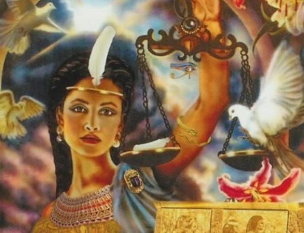 Богиня Маат, канал Маат (инициация, посвящение)