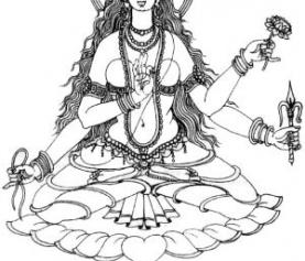 Матанги, богиня Матанги, энергетический канал Матанги (инициация)