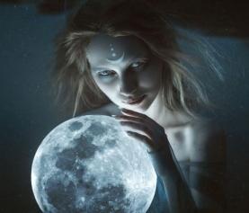 Богиня Луны, Селена, энергия Луны (инициация)